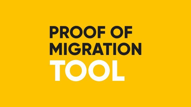 Thumbnail Proof of Migration Tool